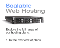 Scalable Managed Web Hosting